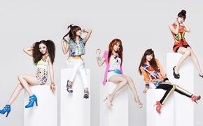 Picture music, girls, Asian girls, South Korea, K-Pop, BLACK