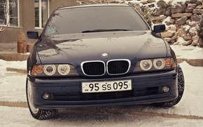 Picture BMW, e39, angel eyes, 520