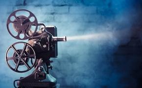 Picture light, movie, film, film projector
