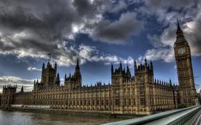 Picture London, Thames, Big Ben