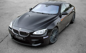 Picture Coupe, Black, BMW, coupe, G-POWER, black, F06, BMW