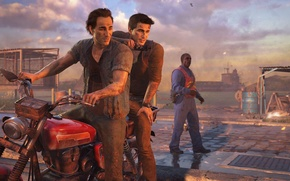 Picture Game, Naughty Dog, Nathan Drake, Uncharted 4: A Thief's End, Sam Drake