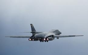 Picture Lancer, strategic, B-1B, bomber, supersonic