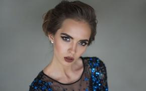 Picture look, face, model, makeup, Viktoria