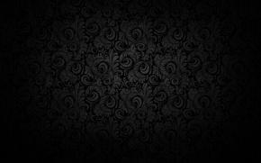 Picture background, black, figure