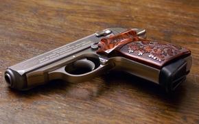 Wallpaper gun, weapons, Walther PPKS 380ACP
