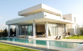 Picture the city, Villa, pool