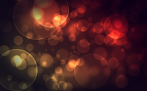 Picture circles, abstraction, paint, colors, circles, patterns, bokeh, bokeh, abstraction