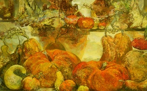 Picture background, widescreen, Wallpaper, picture, pumpkin, wallpaper, pear, vegetables, widescreen, background, beautiful Wallpaper, the Wallpapers, full …
