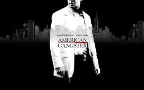 Wallpaper movie, movies, cinema, actors, Denzel Washington, gangster, films, Russell Crowe, actors