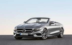 Picture Mercedes-Benz, Mercedes, Cabriolet, The front, S500