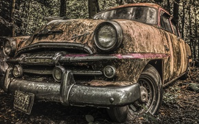 Picture abandoned, decay, natural light, Let's Rock 'n Roll
