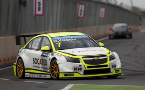 Picture Chevrolet, Turn, Cruze, WTCC, Hugo Valente