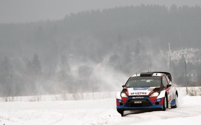 Picture Ford, WRC, Rally, Fiesta, Kubica