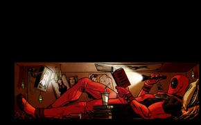 Picture Comic, Deadpool, Marvel, Deadpool, Comics, Wade Wilson, Marvel, Wade Wilson