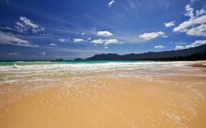 Wallpaper sea, wave, Shore
