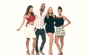 Picture Marie Avgeropoulos, Hundred, The 100, Eliza Taylor, Ricky Whittle, Lindsey Morgan