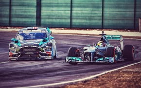 Picture Ford, Car, Race, Formula 1, Block, Fiesta, Ken, Sport, Track, RX43