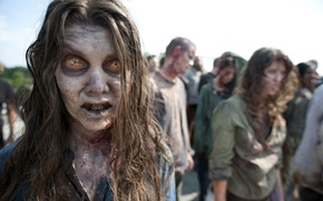 Picture zombies, zombie, the series, the herd, serial, The Walking Dead, The walking dead