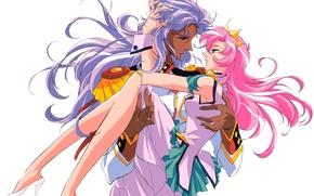 Picture romance, anime, art, pair, revolutionary girl utena
