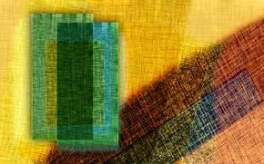 Picture paint, fabric, canvas, flap, patch