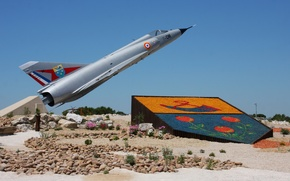 Picture fighter, monument, multipurpose, Mirage 2000C