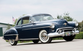 Picture Coupe, the front, 1950, Oldsmobile, The Oldsmobile, Futuramic, 88 Club