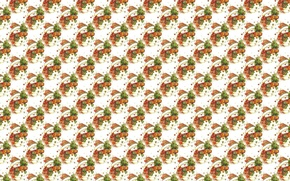 Wallpaper background, holiday, texture, art, New year, snowman