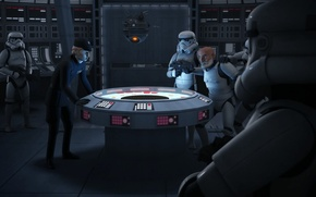 Picture Rex, captured, animated series, Star wars: Rebels, Star Wars: Rebels