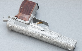 Picture Gun, Wallpaper, Weapons, Wallpapers, Browning, Weapons, High Power, Browning, Hi-Power