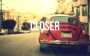 Picture machine, glare, background, street, home, CLOSER