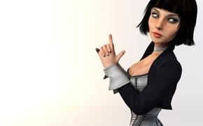 Picture Bioshock Infinite, Elizabeth, Irrational games
