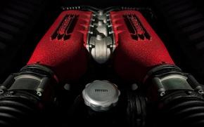 Picture Italia, Ferrari 458, Engine
