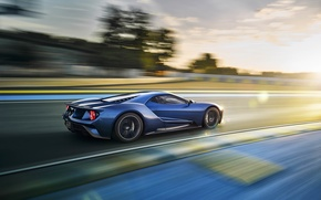 Picture car, auto, speed, track, Ford, track