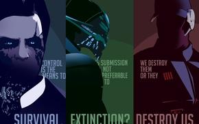 Picture Mass Effect, Illusive Man, Turian, David Anderson, Saren Arterius