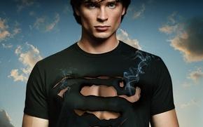 Wallpaper actor, the series, Superman, Clark Kent, Tom Welling, Smallville, Smallville, Tom Welling, Clark Kent