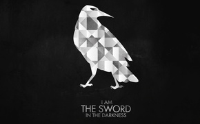 Picture dark, dark, Raven, crow, Game Of Thrones, Game of Thrones, Night Watch, Night Watch