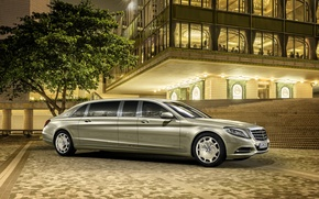 Picture Mercedes, Maybach, Mercedes, Maybach, Pullman, 2016, S 600, VV222