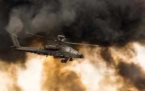 Picture Helicopter, Apache, Aircraft