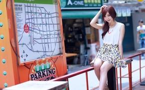 Picture girl, girl, Asian, asian