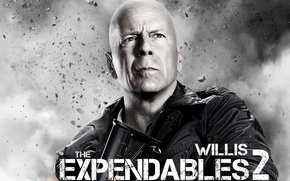 Wallpaper Bruce Willis, The expendables 2, Bruce, Expendables 2, bald