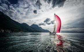 Picture wave, sail, al
