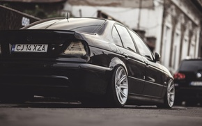 Picture lights, BMW, BMW, Black, E39