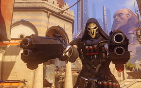 Picture guns, Reaper, Overwatch
