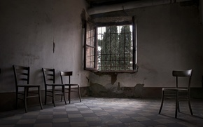 Picture room, chairs, window