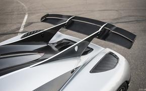 Picture Koenigsegg, Spoiler, Koenigsegg, One:1, Megacar, Wing