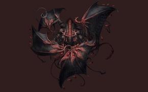 Picture fantasy, wings, anime, the demon, art, Anima: Beyond Fantasy