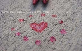 Wallpaper PENCILS, PAIR, RED, TEXTURE, HEART, TEXT, IFON, LOVE, FIGURE