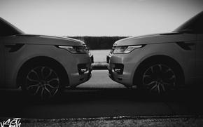 Picture machine, auto, wing, photographer, before, Range Rover, drives, auto, photography, photographer, Vladimir Smith, Vladimir Smith
