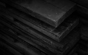 Picture black, wood, coal